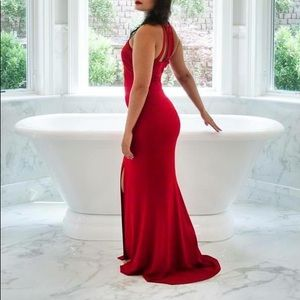 Women's Red Gown / Dress